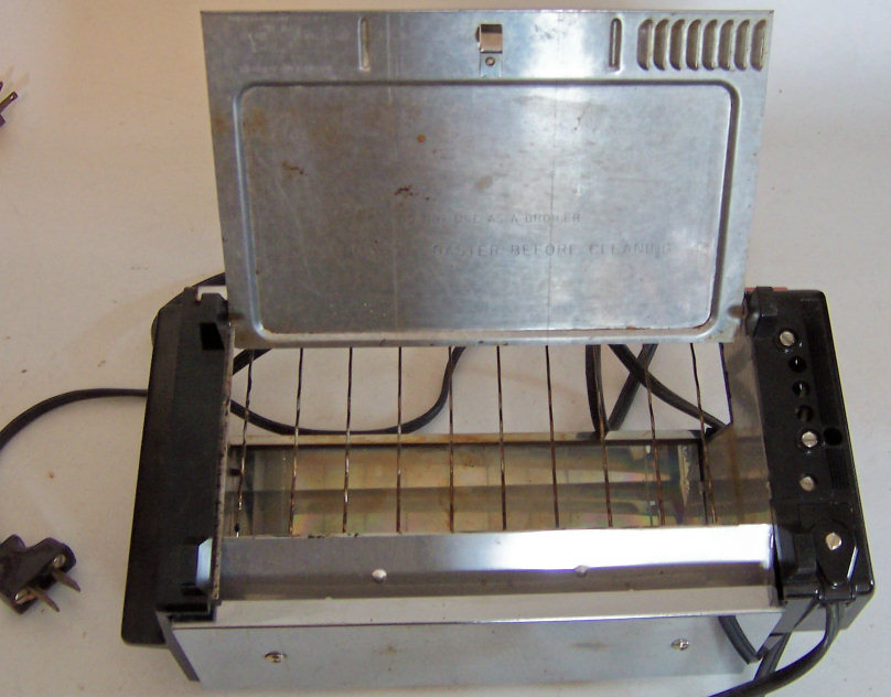 Vintage Ge Toaster Oven ~ Vintage general electric automatic flat toaster oven t